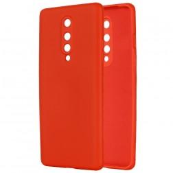 """""""Shell"""" kieto silikono (TPU) dėklas - raudonas (OnePlus 8)"""