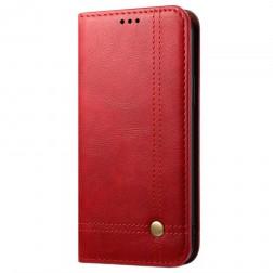 """""""Deluxe"""" atverčiamas dėklas - raudonas (OnePlus 8T)"""