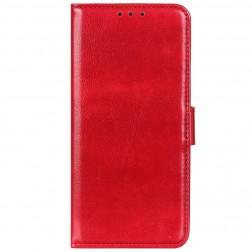 Atverčiamas dėklas, knygutė - raudonas (OnePlus 8T)
