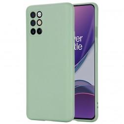 """""""Shell"""" kieto silikono (TPU) dėklas - žalias (OnePlus 8T)"""