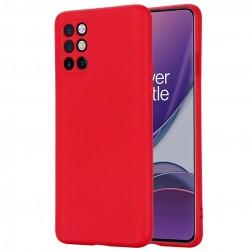 """""""Shell"""" kieto silikono (TPU) dėklas - raudonas (OnePlus 8T)"""