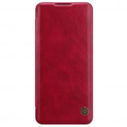 """""""Nillkin"""" Qin atverčiamas dėklas - raudonas (OnePlus 9 Pro)"""