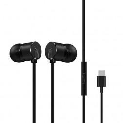 """OnePlus"" Bullets Type-C Earphones ausinės - juodos"