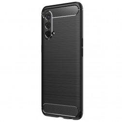 """""""Carbon"""" kieto silikono (TPU) dėklas - juodas (OnePlus Nord CE)"""