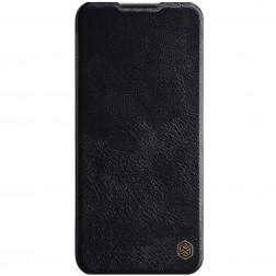 """""""Nillkin"""" Qin atverčiamas dėklas - juodas (OnePlus Nord N10 5G)"""