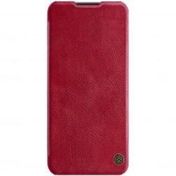 """""""Nillkin"""" Qin atverčiamas dėklas - raudonas (OnePlus Nord N10 5G)"""