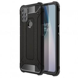 Sustiprintos apsaugos dėklas - juodas (OnePlus Nord N10 5G)