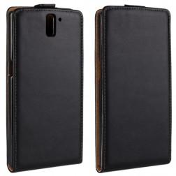 Klasikinis atverčiamas dėklas - juodas (OnePlus One)