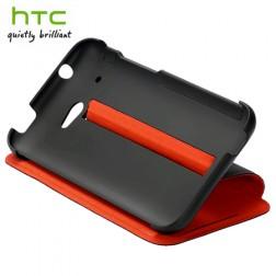 """""""HTC"""" Duoble Dip atverčiamas dėklas - juodas (Desire 601)"""