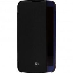 """""""LG"""" Quick Cover View dėklas - juodas (K10)"""