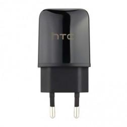 """""""HTC"""" sieninis įkroviklis - juodas (1.5 A)"""