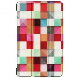 """""""Cubes"""" atverčiamas dėklas (Galaxy Tab A 8.0 2019)"""