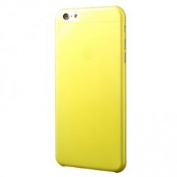 Ploniausias plastikinis dėklas - geltonas (iPhone 6 Plus / iPhone 6s Plus)