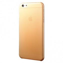 Ploniausias plastikinis dėklas - oranžinis (iPhone 6 Plus / iPhone 6s Plus)