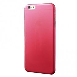 Ploniausias plastikinis dėklas - raudonas (iPhone 6 Plus / 6S Plus)