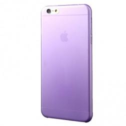 Ploniausias plastikinis dėklas - violetinis (iPhone 6 Plus / iPhone 6s Plus)