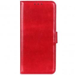 Atverčiamas dėklas, knygutė - raudonas (Poco F2 Pro)
