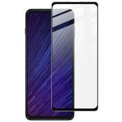 """""""Imak"""" Tempered Glass pilnai dengiantis apsauginis ekrano stiklas 0.2 mm - juodas (Moto G 5G Plus)"""