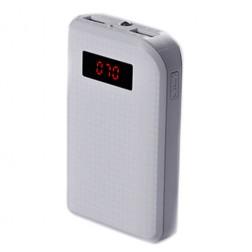 """Remax"" išorinė baterija - balta (10000 mAh)"
