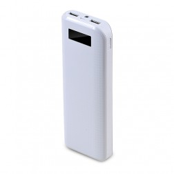 """Remax"" išorinė baterija - balta (20000 mAh)"