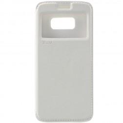 """""""Roar"""" Noble atverčiamas dėklas - baltas (Galaxy S8)"""