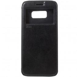 """""""Roar"""" Noble atverčiamas dėklas - juodas (Galaxy S8)"""