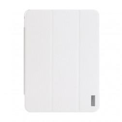 """""""ROCK"""" Elegant atverčiamas dėklas - baltas (Galaxy Tab 4 10.1)"""