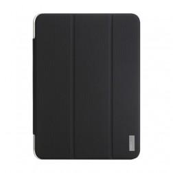 """""""ROCK"""" Elegant atverčiamas dėklas - juodas (Galaxy Tab 4 10.1)"""