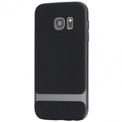 """""""Rock"""" Royce dėklas - juodas / pilkas (Galaxy S7)"""