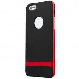 """""""Rock"""" Royce dėklas - juodas / raudonas (iPhone 6 Plus / 6s Plus)"""