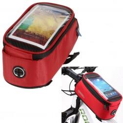 """""""Roswheel"""" dėklas - dviračio krepšys - raudonas (XL)"""