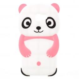 Žaismingas silikoninis dėklas - rožinis (Galaxy A3 2017)