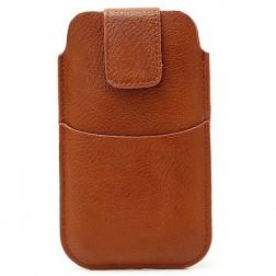 Įmautė su kišenėle - ruda (L dydis)