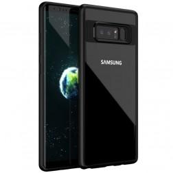 """""""IPAKY"""" Frame dėklas - skaidrus / juodas (Galaxy Note 8)"""