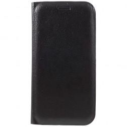 """""""Smart Wallet"""" atverčiamas dėklas - juodas (Galaxy A3 2017)"""