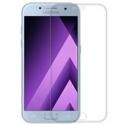 """""""Calans"""" Tempered Glass pilnai dengiantis apsauginis ekrano stiklas 0.2 mm - skaidrus (Galaxy A7 2017)"""