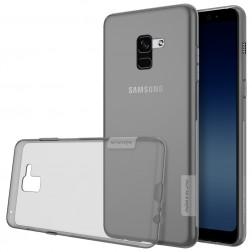 """""""Nillkin"""" Nature TPU dėklas - pilkas (Galaxy A8 2018)"""