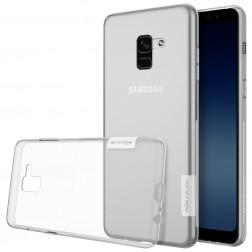 """""""Nillkin"""" Nature TPU dėklas - skaidrus (Galaxy A8 2018)"""