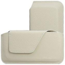 Stilinga odinė įmautė - smėlio spalvos (XS)