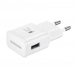 """Samsung"" Adaptive Fast Charging sieninis įkroviklis - baltas (2000 mA / 1670mA)"