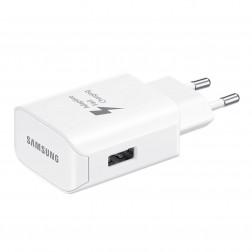 """Samsung"" Adaptive Fast Charging sieninis įkroviklis - baltas (EP-TA300)"
