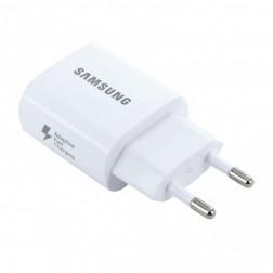 """Samsung"" Adaptive Fast Charging sieninis įkroviklis - baltas (EP-TA600)"