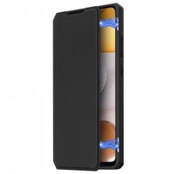 """""""Dux Ducis"""" Skin X atverčiamas dėklas - juodas (Galaxy A42 5G)"""