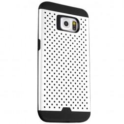 """""""Bubble"""" sustiprintos apsaugos dėklas - baltas (Galaxy S6)"""