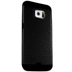 """""""Bubble"""" sustiprintos apsaugos dėklas - juodas (Galaxy S6)"""