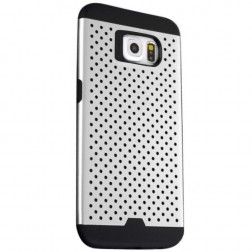 """Bubble"" sustiprintos apsaugos dėklas - pilkas (Galaxy S6)"