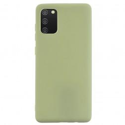 """Shell"" kieto silikono (TPU) dėklas - žalias (Galaxy A02s)"