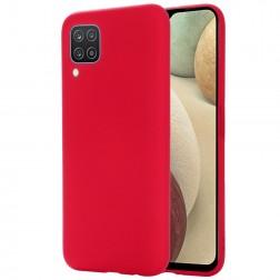 """""""Shell"""" kieto silikono (TPU) dėklas - raudonas (Galaxy A12)"""