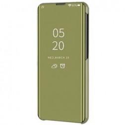 Plastikinis atverčiamas dėklas - auksinis (Galaxy A21s)