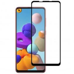 """""""Mocolo"""" Tempered Glass apsauginis ekrano stiklas 0.26 mm - juodas (Galaxy A21s)"""